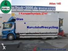 camión Scania P380 Glas/Wertstoff/Recycling+Kran+ 37m³