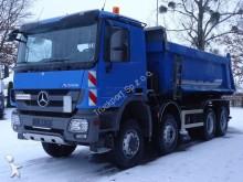 camión Mercedes MB ACTROS 4146 8x6 Euro5 Muldenkipper Schmitz
