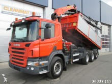 camion Scania P 400 8x4 Euro 5 Retarder alfinger 21 ton/meter