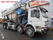 camión Scania 113 G 360 28m CiFa 4 Mast Pumpe+8m³CiFa Mischer