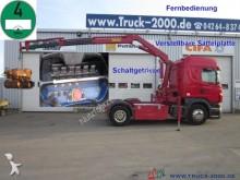 camion Scania R 420 HMF Kran 11,8m - 920kg + Funk-FB Klima