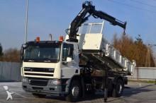 DAF CF 75.310 * Kipper 4,50 m + KRAN * Bordmatic! truck