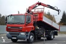 DAF CF 75.310 * Kipper 5,20 m + KRAN Top Zustand! truck