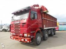 camion benne à ferraille Scania