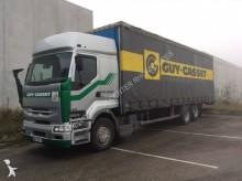 camion cassone centinato alla francese Renault