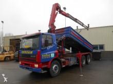 camion DAF 75 ATI 75 CF 270 ATI Kipper HMF Crane 10 Tyre's