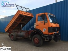 camion Mercedes 1928 4x4, PM 17 Crane, Manual, Naafreductie, Ste