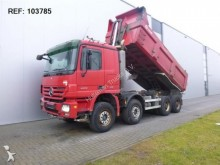 camion Mercedes ACTROS 4155 8X4 DUMPER FULL STEEL HUB REDUCTION