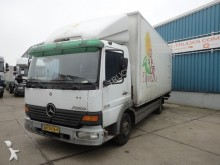 camion Mercedes Atego 815 WITH BOX AND TAILLIFT (FULL STEEL / MA