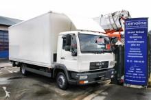 camion MAN LE 8.180C Koffer Blatt / Luft mit LBW + TÜV