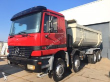 camión Mercedes Actros 4140 K 8x8 - Manual - Tipper - Full Steel