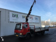 camion DAF 800 WITH HIAB CRANE | VERY LOW MILEAGE! | ORIGIN