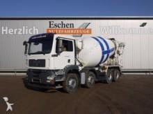camión MAN 35.400 8x4, 10 m³, Klima