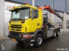camion Scania G 400 6x6 Euro 5 Palfiner 18 ton/meter Kran
