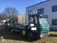 camion plateau porte panneau Iveco