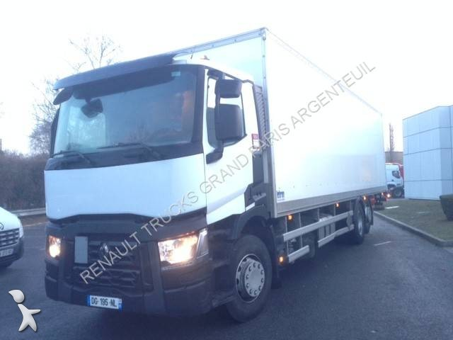 camion renault fourgon gamme t 380 6x2 gazoil euro 6 hayon occasion n 1918382. Black Bedroom Furniture Sets. Home Design Ideas