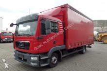 camion MAN TGL 8.220 4x2 mit Plane / Schlafkabine / TOP