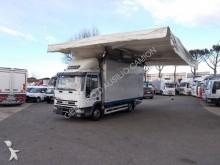 camion Iveco Eurocargo 80E18 FURGONE+TENDA PER MERCATI E SPONDA