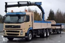 camión Volvo FM 12 420 Pritsche 6,60 m + KRAN + Anhänger!
