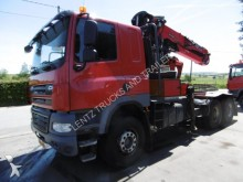 used DAF timber truck