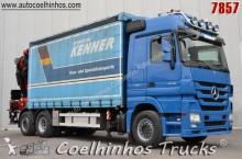 camião caixa de cortinas Mercedes usado