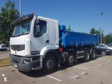 used Renault two-way side tipper truck