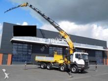 Scania p450 8x4 grue 132tm hauteur 40m truck