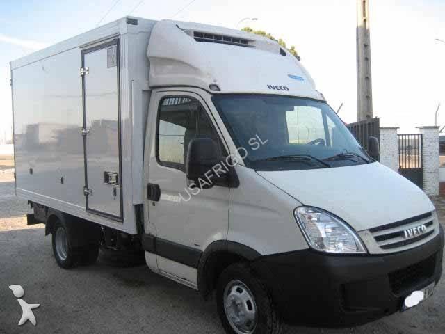 camion iveco frigo thermoking mono temp rature daily 35c15. Black Bedroom Furniture Sets. Home Design Ideas