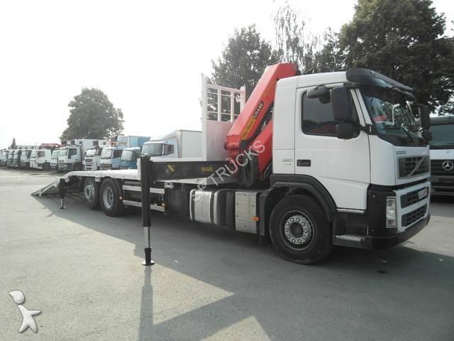 camion volvo porte engins fm 380 6x2 gazoil euro 4