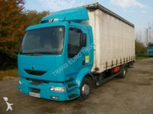 used Renault tautliner truck