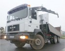 camion bi-benne MAN occasion