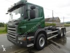 used Scania timber truck
