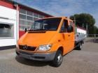 camion Mercedes Sprinter 413 CDI Doka Pritsche Maxi AHK