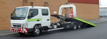 used Mitsubishi  tow truck