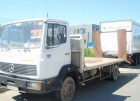 used Mercedes heavy equipment transport truck