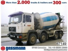 camion béton toupie / Malaxeur MAN occasion