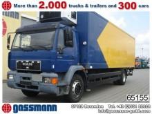 camion MAN 18.284 L Kühlkoffer/Lbw, Carrier Strom/Diesel