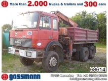 camion ribaltabile incidentato