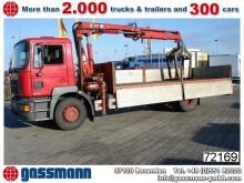 camión caja abierta MAN usado