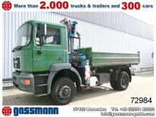 camión MAN 19.343 T04 4x4 mit Kran Atlas AK 130.1-82/2