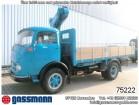 camion Mercedes LP 1413 4x2 mit Kran Wirz