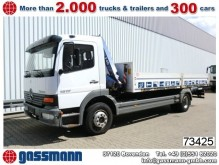 camion Mercedes Atego 1217L 4x2 mit Kran Fassi F60
