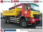 used Mercedes three-way side tipper truck