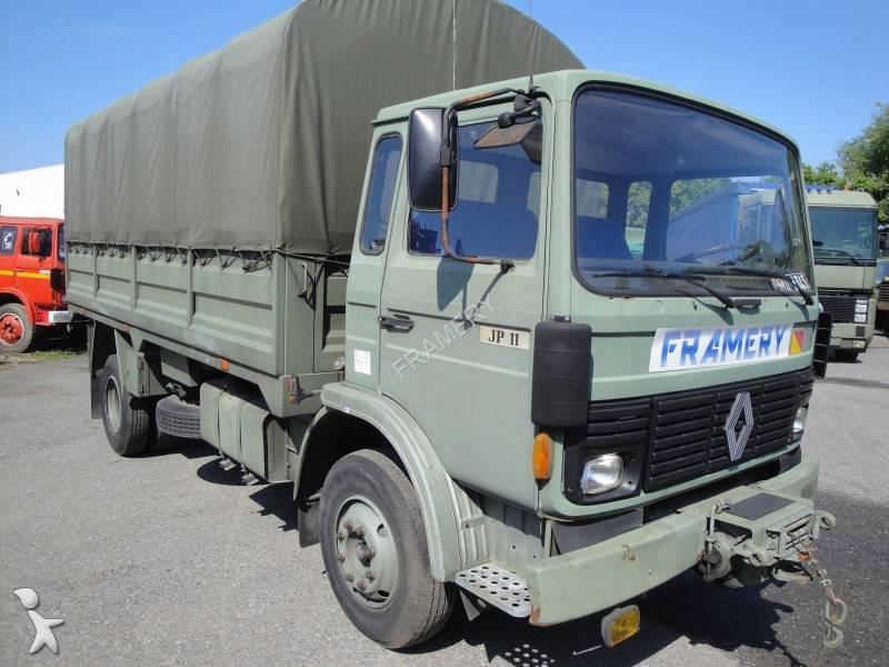 camion renault militaire jp 11 4x2 gazoil occasion n 798273. Black Bedroom Furniture Sets. Home Design Ideas