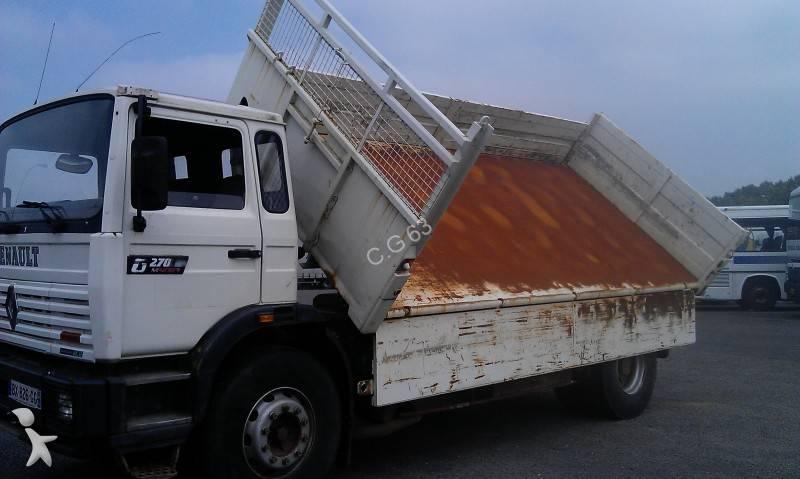 camion renault bi benne lohr gamme g 270 manager 4x2 gazoil occasion n 806651. Black Bedroom Furniture Sets. Home Design Ideas