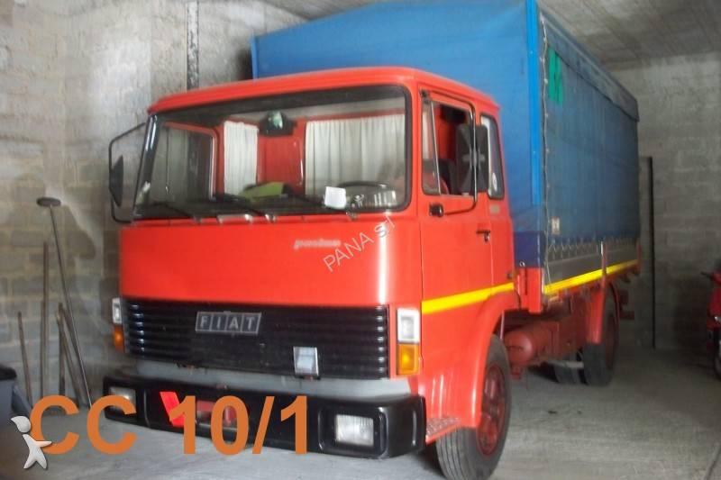 Camion fiat cassone centinato 110 4x2 nc usato n 808710 - Portata massima camion italia ...