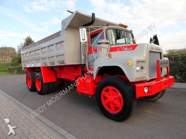 camion mack benne dm600sx 6x4 kipper 6x4 gazoil occasion