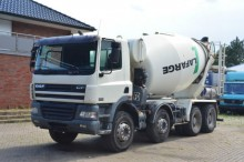 camion DAF CF 85-380 8x4 / Stetter 9m³
