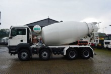 camión MAN TGS 41.400 8x4 Wechselsystem Kipper+Betonmischer