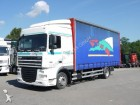 camion DAF XF 105.410 Space Cab Pritsche-Plane